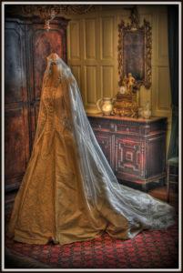 中世風ドレス