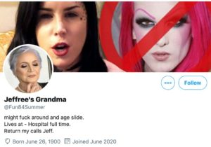 Jeffree's Grandma