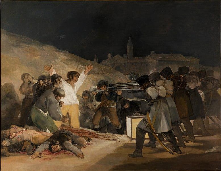 『マドリード、1808年5月3日』